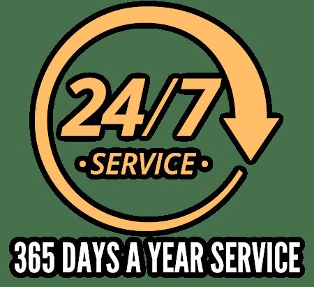 24 Hour All Year Hose Repair Service
